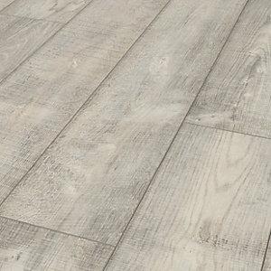 Laminate Flooring Wood Finish, Gosford Light Grey Oak Effect Laminate Flooring