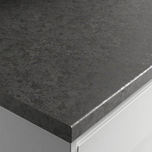 Wickes Textured Laminate Worktop - Deep Riven 600mm x 38mm x 3m