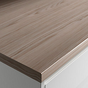 Wickes Wood Effect Laminate Worktop - Cypress Cinnamon 600mm x 38mm x 3m