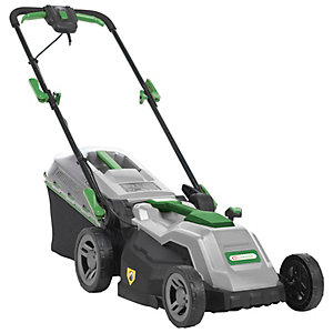 Q Garden 1600W Electric Rotary Lawnmower - 38cm