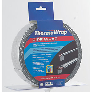 Thermawrap Spiral Foil Wrap Insulation 50mm x 7.5m