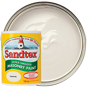 Sandtex Ultra Smooth Masonry Paint - Chalk Hill 5L