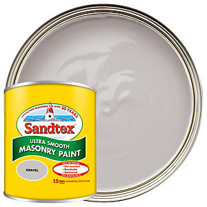 Sandtex Ultra Smooth Masonry Paint - Gravel 150ml