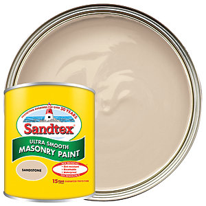 Sandtex Ultra Smooth Masonry Paint - Sandstone 150ml