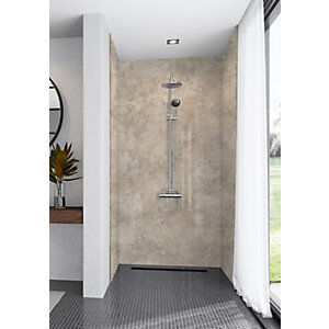 Mermaid Elite Treviso 3 Sided Shower Panel Kit