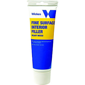 Wickes Fine Surface Ready Mixed Filler - 330g