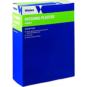 Wickes Quick Setting Patching Plaster - White 1.7kg
