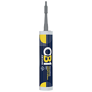 OB1 Multi-Surface Sealant & Adhesive - 290ml - Grey