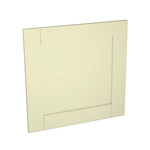 Wickes Ohio Cream Shaker Appliance Door (C) - 600 x 584mm