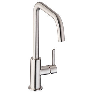 Abode Althia Single Lever Kitchen Tap Brushed Nickel