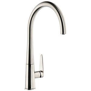 Abode Coniq R Single Lever Kitchen Tap Brushed Nickel