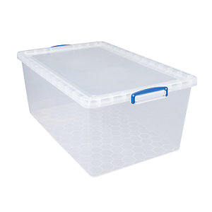 Really Useful Clear Value Storage Box - 33.5L