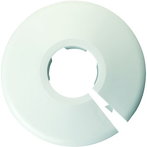 Primaflow White Pipe Collars - 22mm Pack Of 5