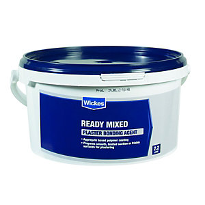 Wickes Ready Mixed Plaster Bonding Agent - 3kg