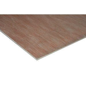 Wickes Non Structural Hardwood Plywood - 5.5mm x 1220mm x 2440mm