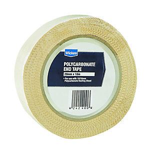 Wickes Anti-dust Polycarbonate Tape - 28mm x 10m