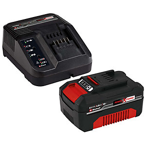 Einhell Power X-Change 18V 4.0Ah Battery And Fast Charger Starter Kit