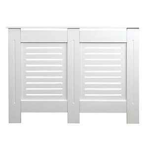 Wickes Bellona Small Radiator Cover White - 1110 mm