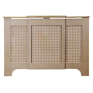 Wickes Halsted Medium Adjustable Radiator Cover Unfinished - 975-1425 mm