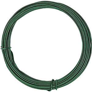Wickes PVC Coated Garden Wire - 3.5mm x 20m