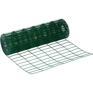 Wickes PVC Coated Garden Wire Fencing - 600mm x 10m