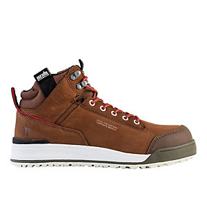 Scruffs Switchback Safety Hiker Boot - Brown