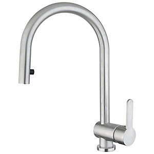 Abode Czar Pull Out Kitchen Tap Chrome