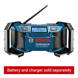 Bosch Professional GML Soundboxx 14.4V/18V AM/FM Site Radio - Bare
