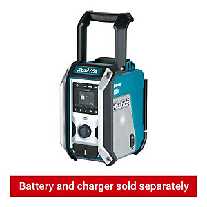 Makita DMR115 Hybrid Power Bluetooth DAB+ Site Radio - Bare