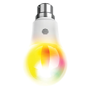 Hive Active LED B22 Colour Changing Light Bulb - 9.5W