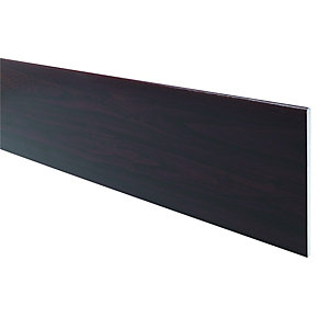 Wickes PVCu Rosewood Soffit Reveal Liner Board 200 x 2500mm