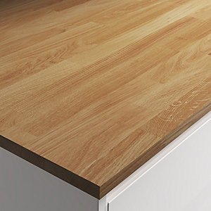 Engineered Oak with Natural Oil Worktop Sample 22mm