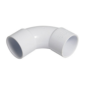NEW Solvent Weld Reducer 50mm x 32mm White plumbing Waste pipe  Each
