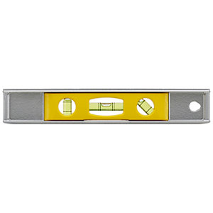 Stanley 0-42-465 Magnetic Cast Aluminium Torpedo Level - 230mm