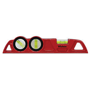 Wickes Professional Spirit Level - 250mm