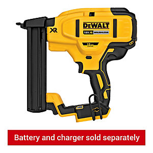 DEWALT DCN681N-XJ 18V XR Brushless 18Ga Narrow Crown Stapler - Bare