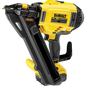 DEWALT DCN694P2-GB 18V 5.0Ah XR Li-Ion 1 Speed Metal Connector Nailer Kit