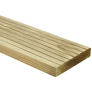 Wickes Deck Board - 25mm x 120mm x 2.4m