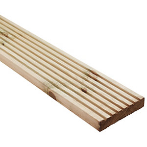 Wickes Premium Deck Board 28mm x 140mm x 2.4m