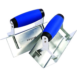 Wickes Corner Trowel Set - Pack of 2