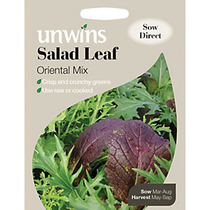 Unwins Oriental Mix Leaf Salad Seeds
