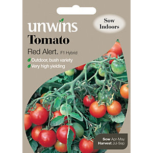 Unwins Red Alert Cherry Tomato Seeds