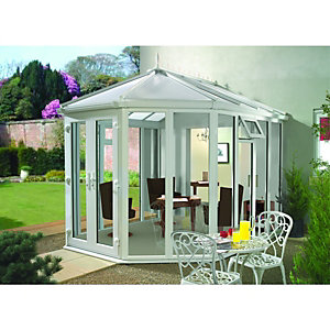 Wickes Victorian Full Glass Conservatory - 12 x 13 ft