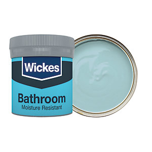 Wickes Blue Jeans - No. 960 Bathroom Soft Sheen Emulsion Paint Tester Pot - 50ml