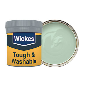 Wickes Sage - No. 805 Tough & Washable Matt Emulsion Paint Tester Pot - 50ml