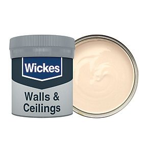 Wickes Skinny Latte - No. 325 Vinyl Matt Emulsion Paint Tester Pot - 50ml