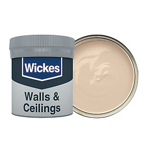 Wickes Soft Cashmere - No. 330 Vinyl Matt Emulsion Paint Tester Pot - 50ml