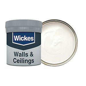 Wickes Victorian White - No. 125 Vinyl Matt Emulsion Paint Tester Pot - 50ml