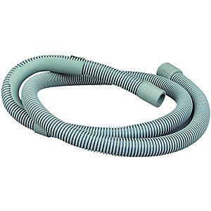 Wickes Washing Machine Waste Hose Outlet - Grey 1.5m