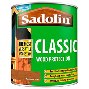 Sadolin Classic Woodstain Antique Pine 1L